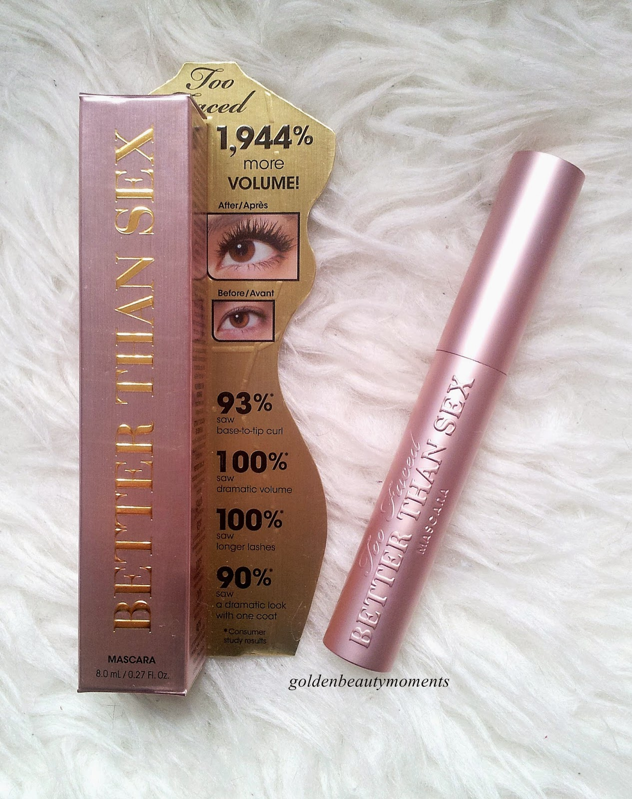[Review] Too Faced: Better Than Sex Mascara